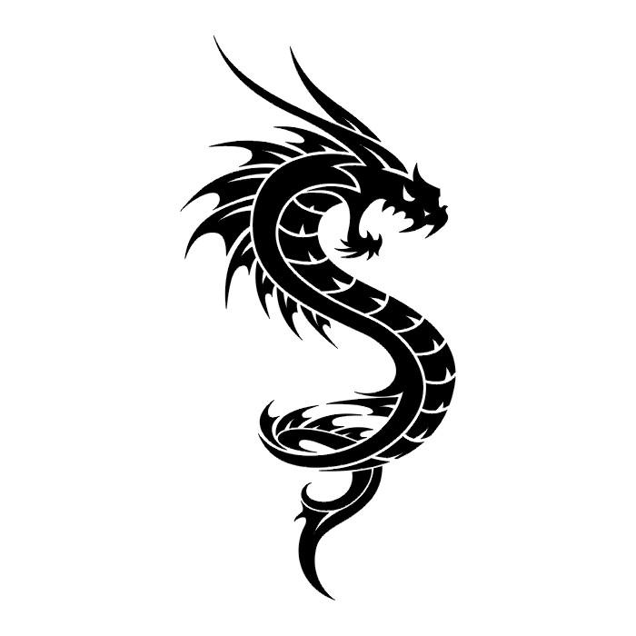 Тату дракон тату